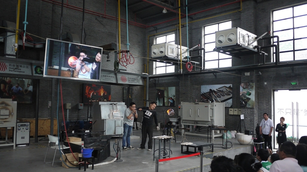 Live Glass Blowing Workshop