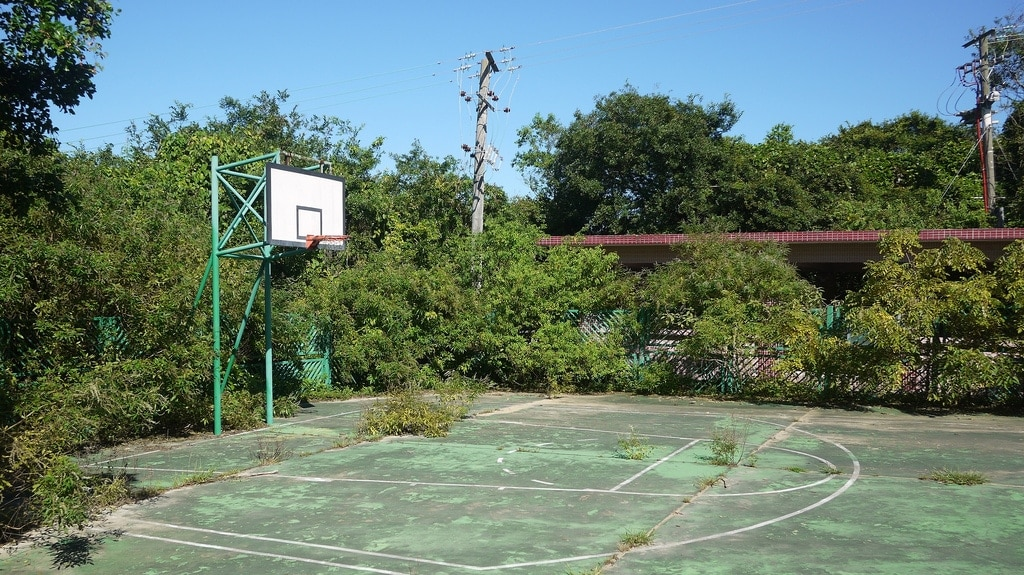 Abandoned Basket Ball Court