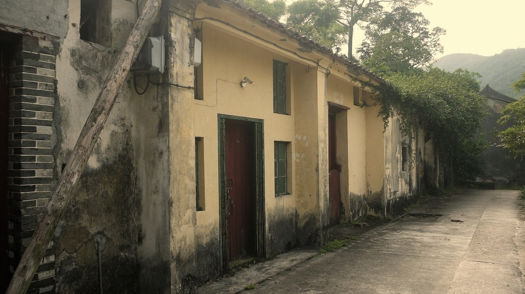 Abandoned Village Houses