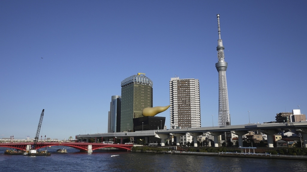 Tokyo Skytree from Asakusa