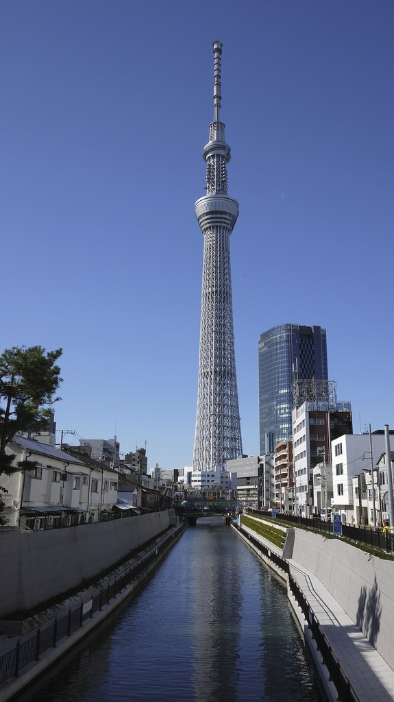 Tokyo Skytree Reflection