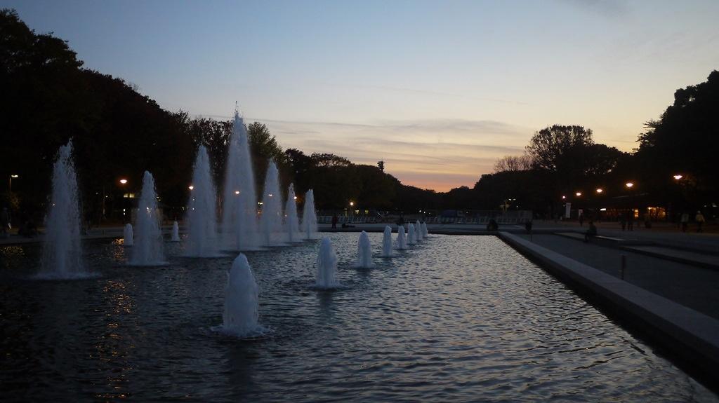 Ueno Park Fountain
