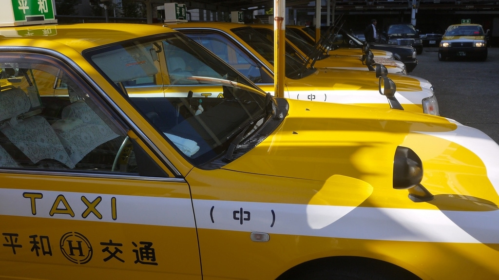 Yokohama Yellow Taxi