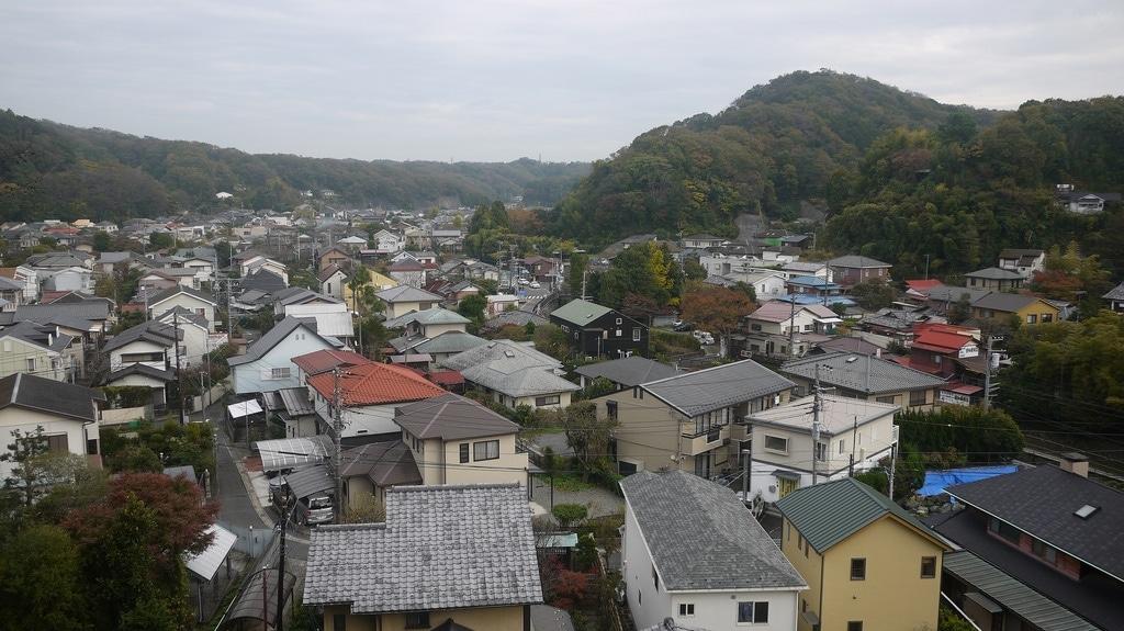 Overlooking Kamakura