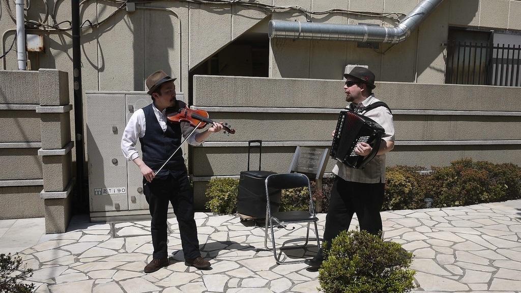 Violin & Concertina