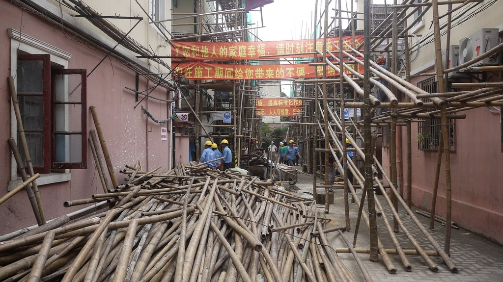 Bamboo Building Site