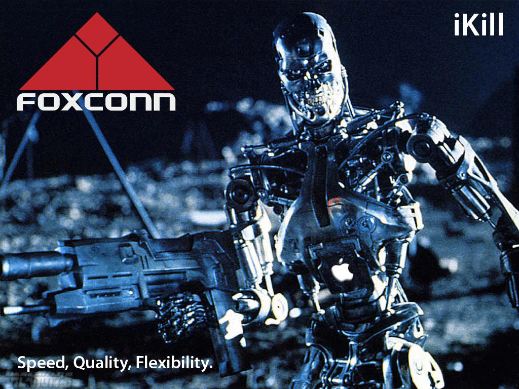 Foxconn Apple iKill Terminator
