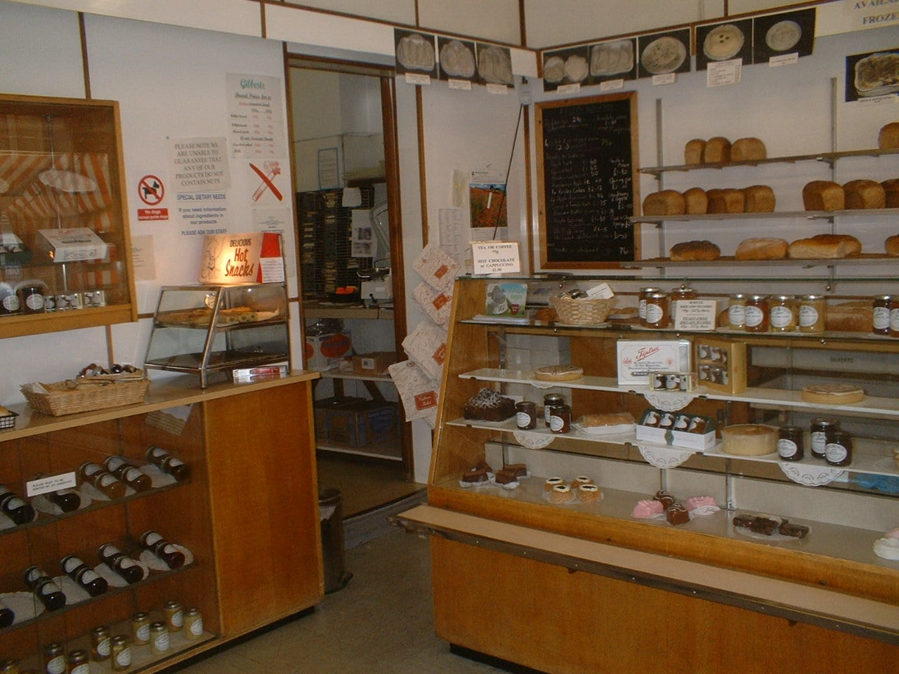 Inside Gilbers Bakery