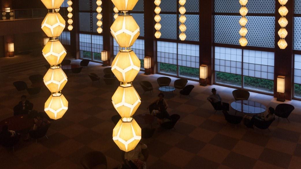 Hotel Okura Lamps