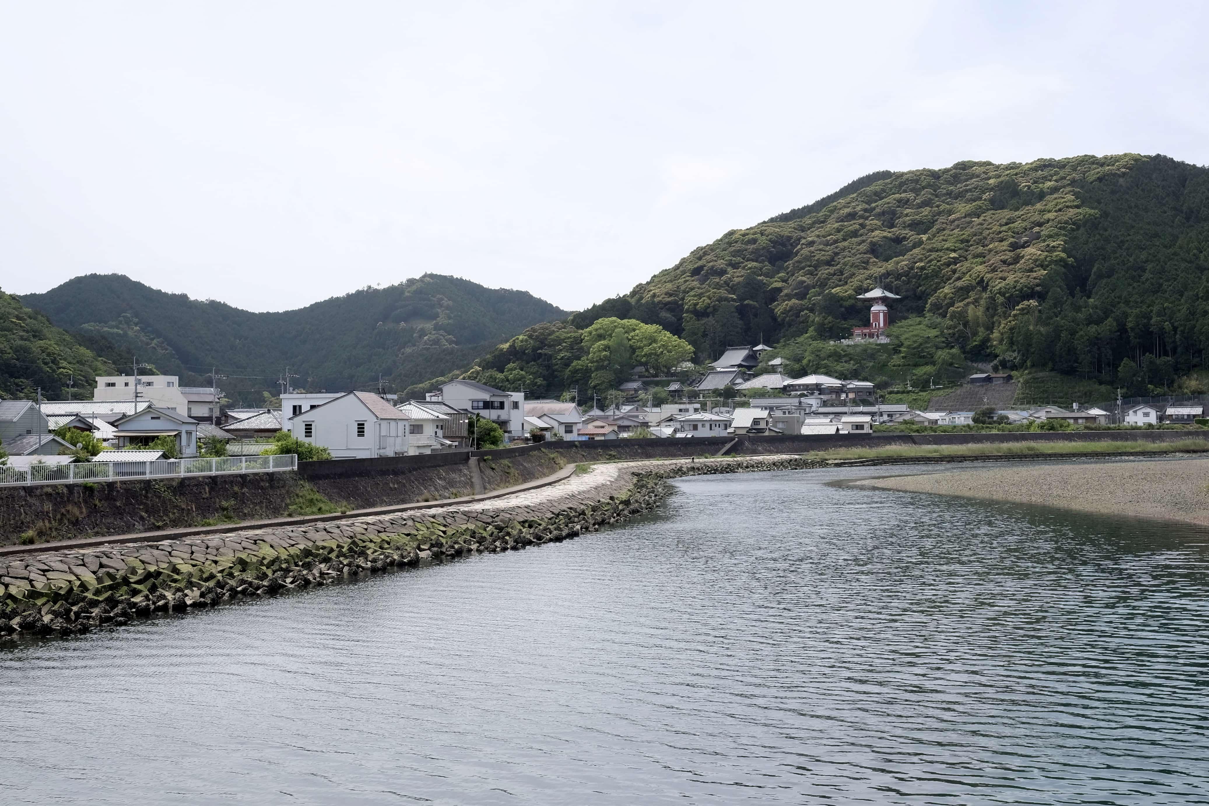 Ebisu-do from Hiwasa