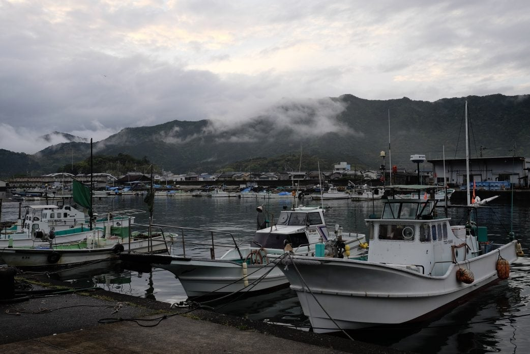 Shishikui harbour