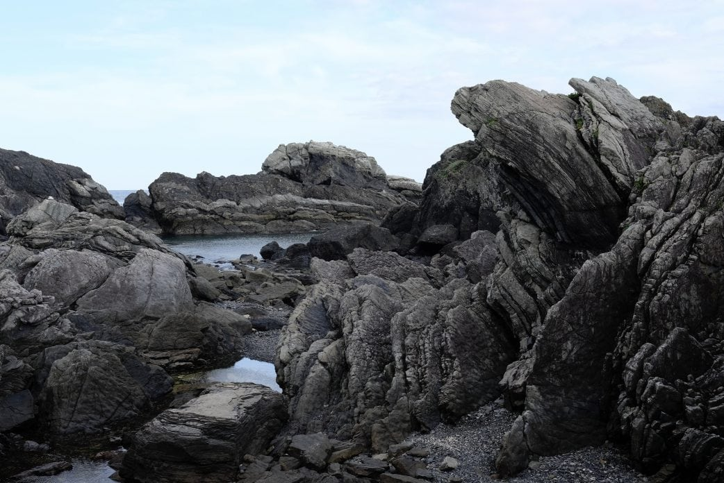 Cape Muroto rock formations