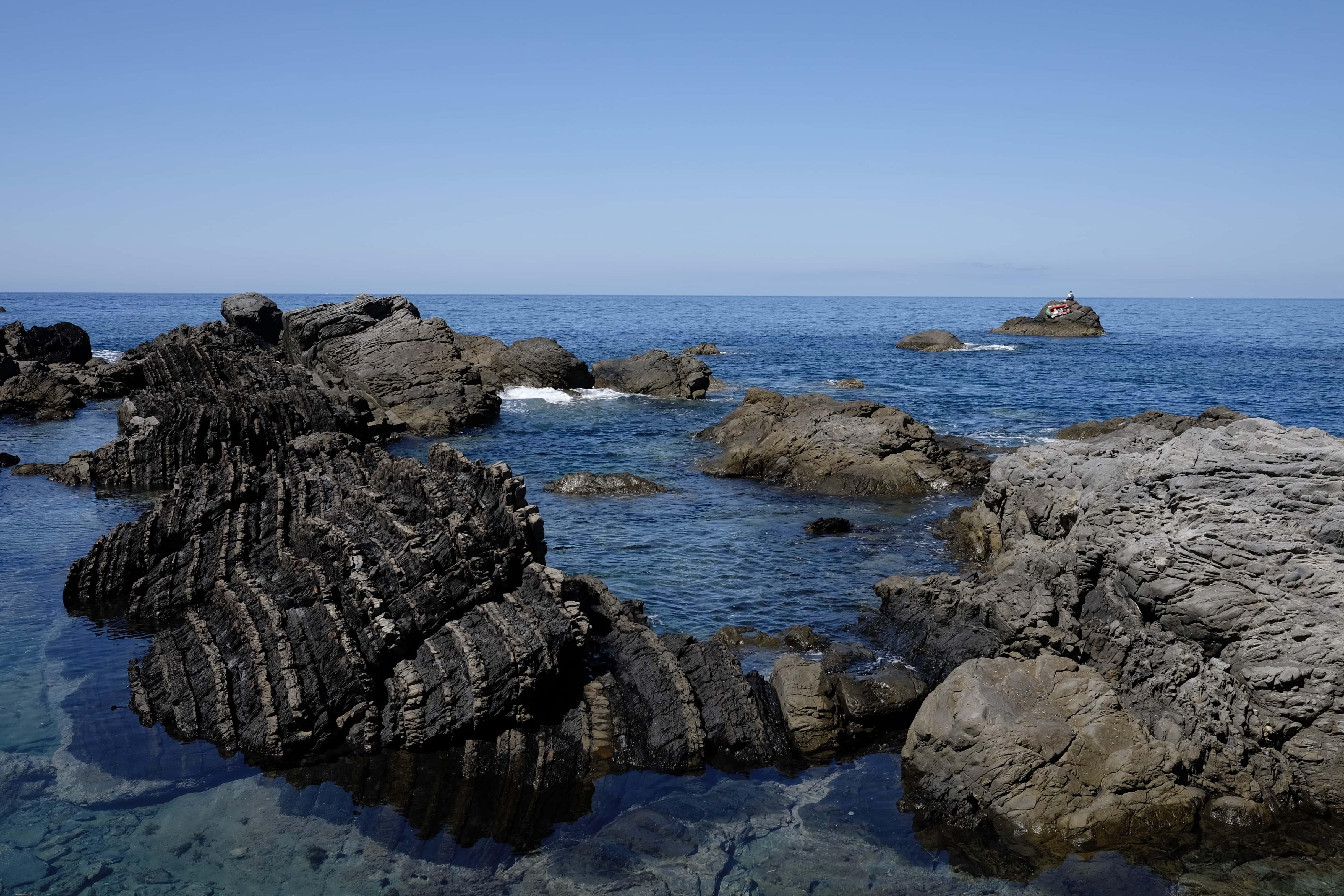 Fudō-iwa rocks