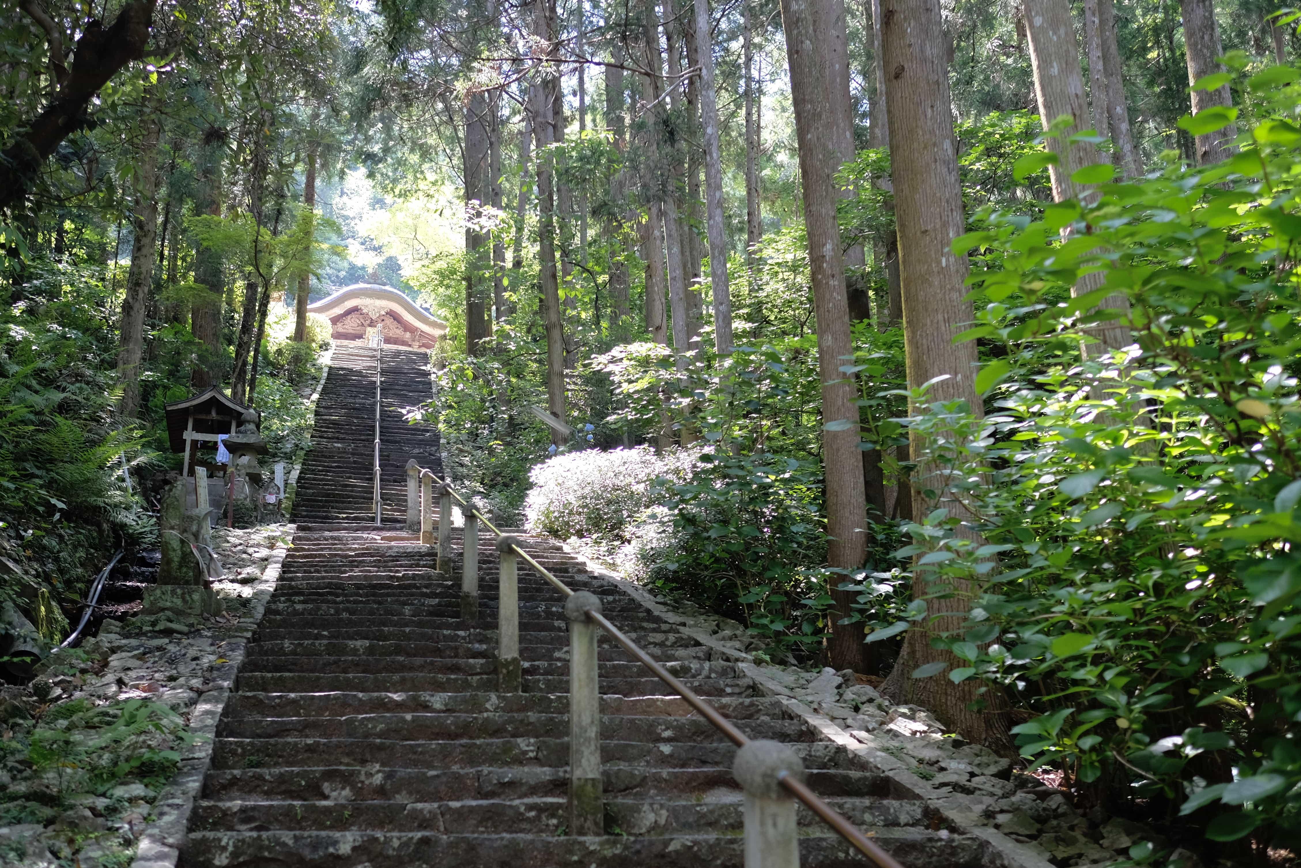 Shōryū-ji Stairs