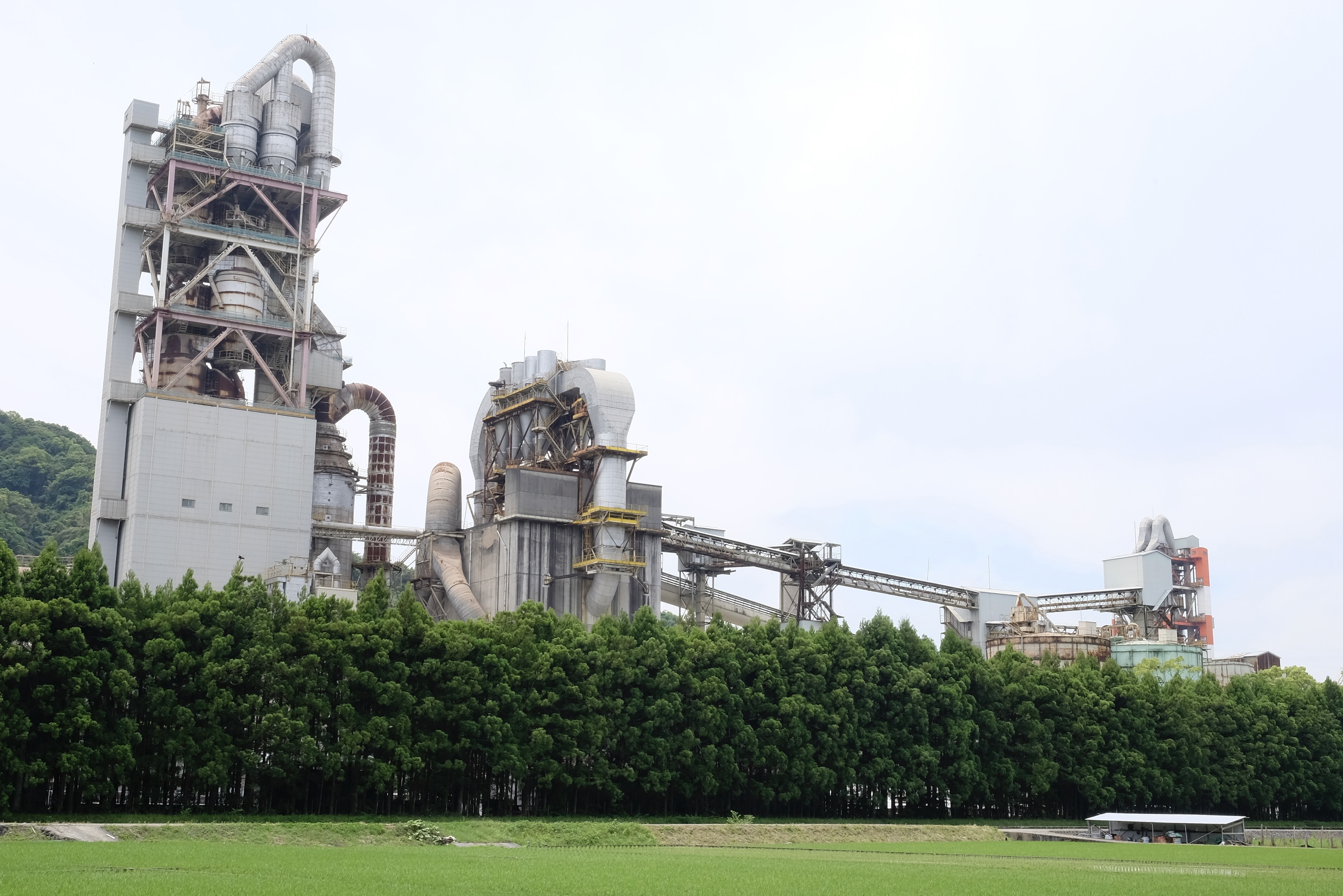Susaki industrial plant