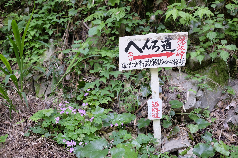 Henro sign