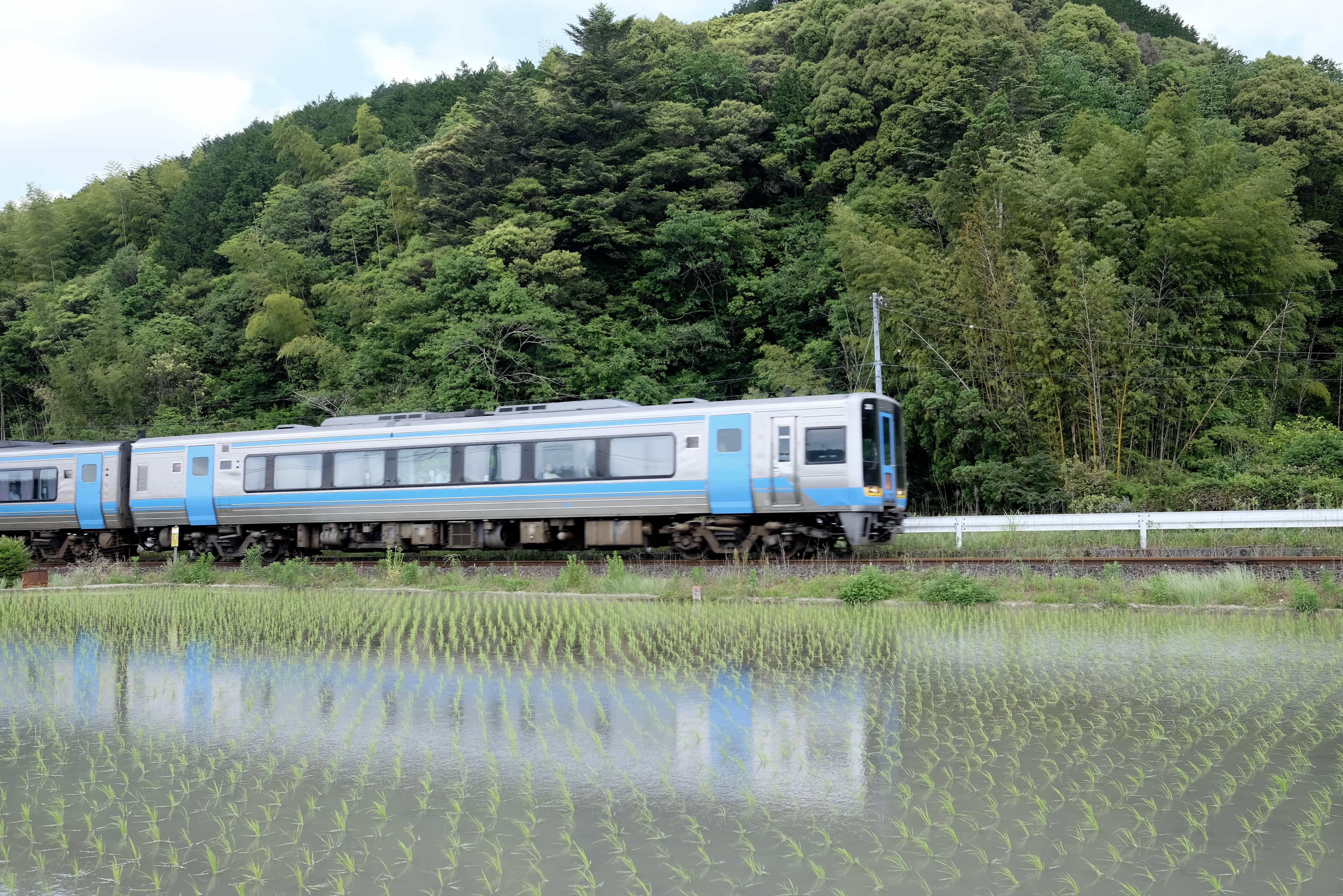 Shikoku train