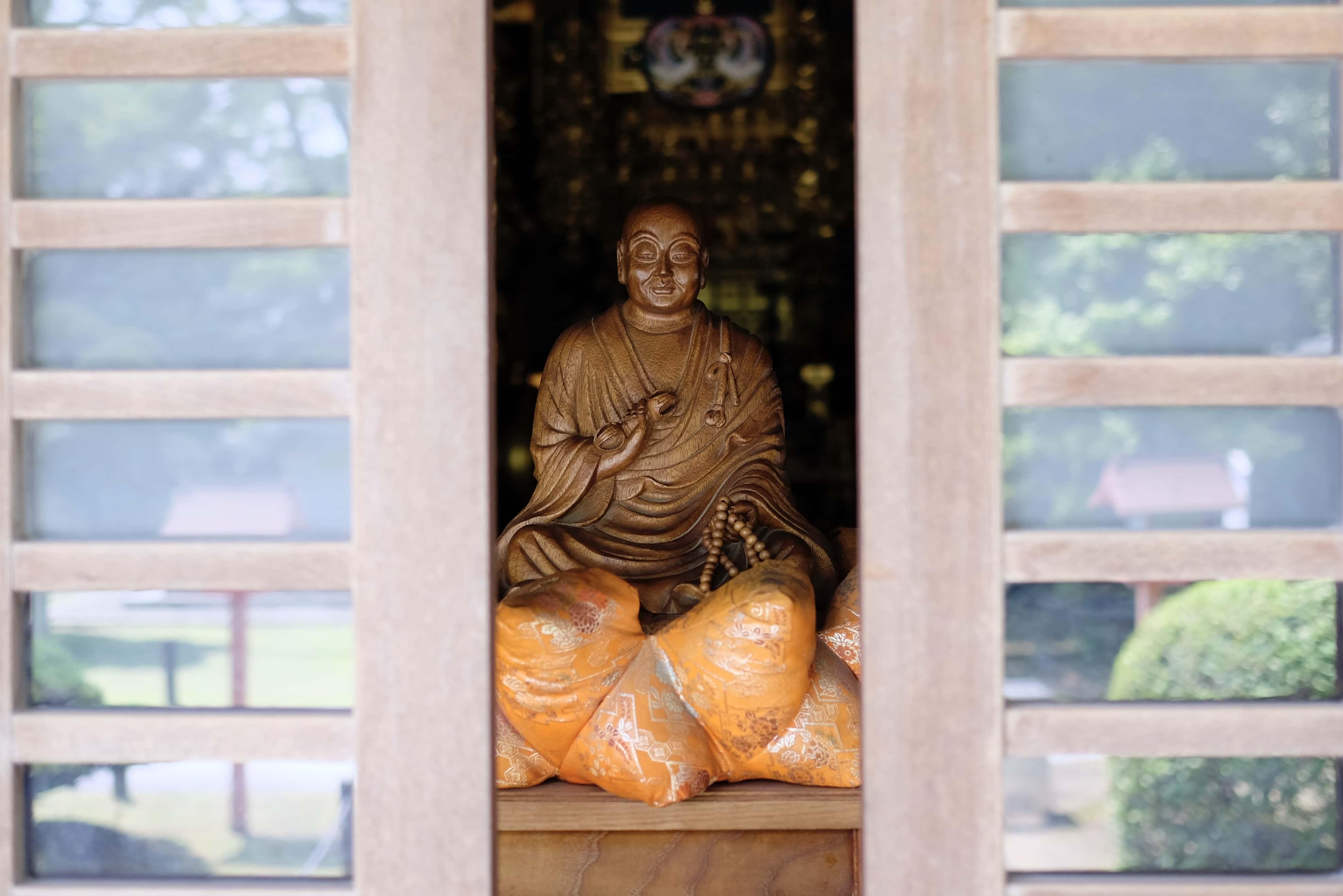 Kobo Daishi at Kanjizai-ji
