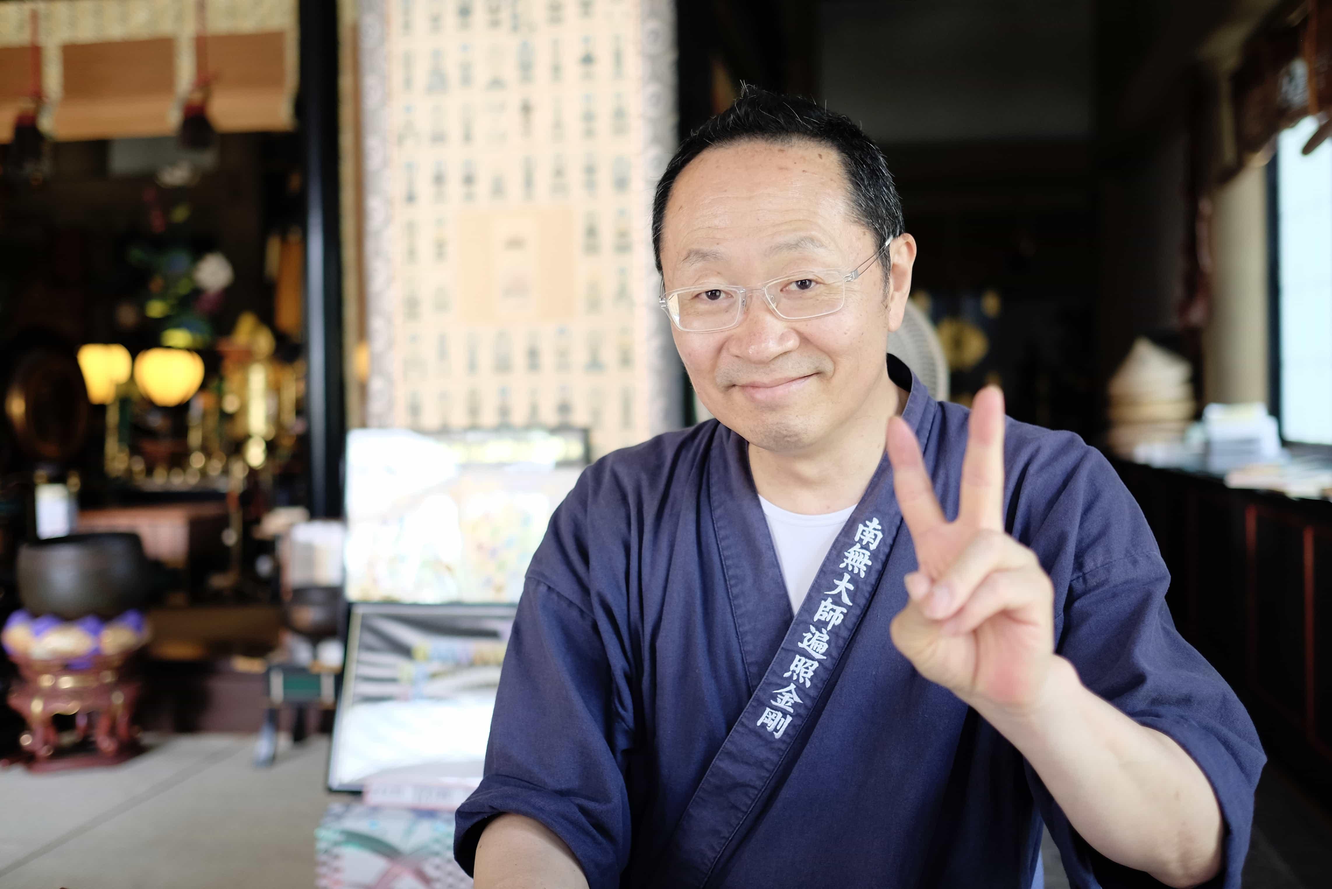 Kanjizai-ji monk
