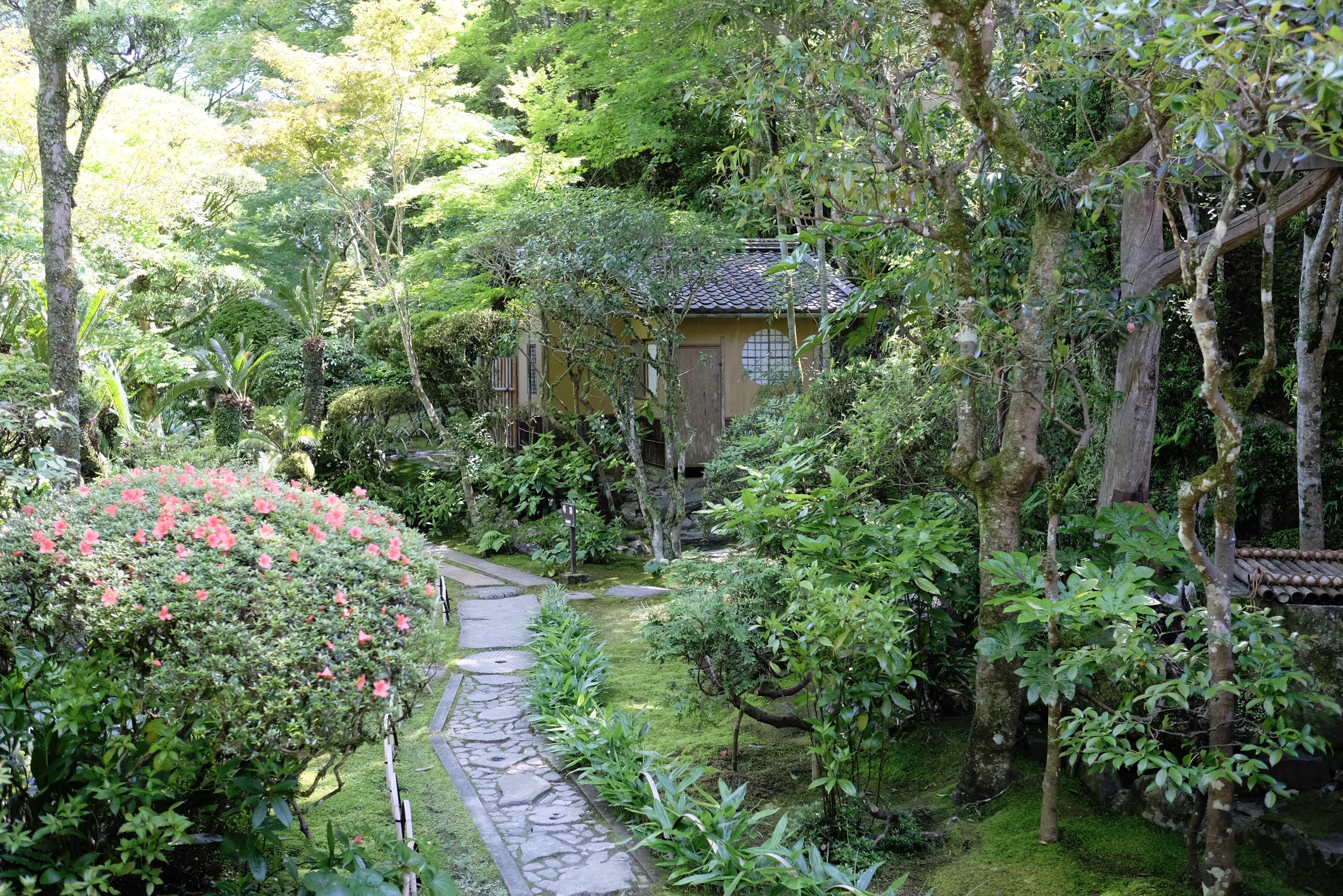 Garyū Sansō rock garden