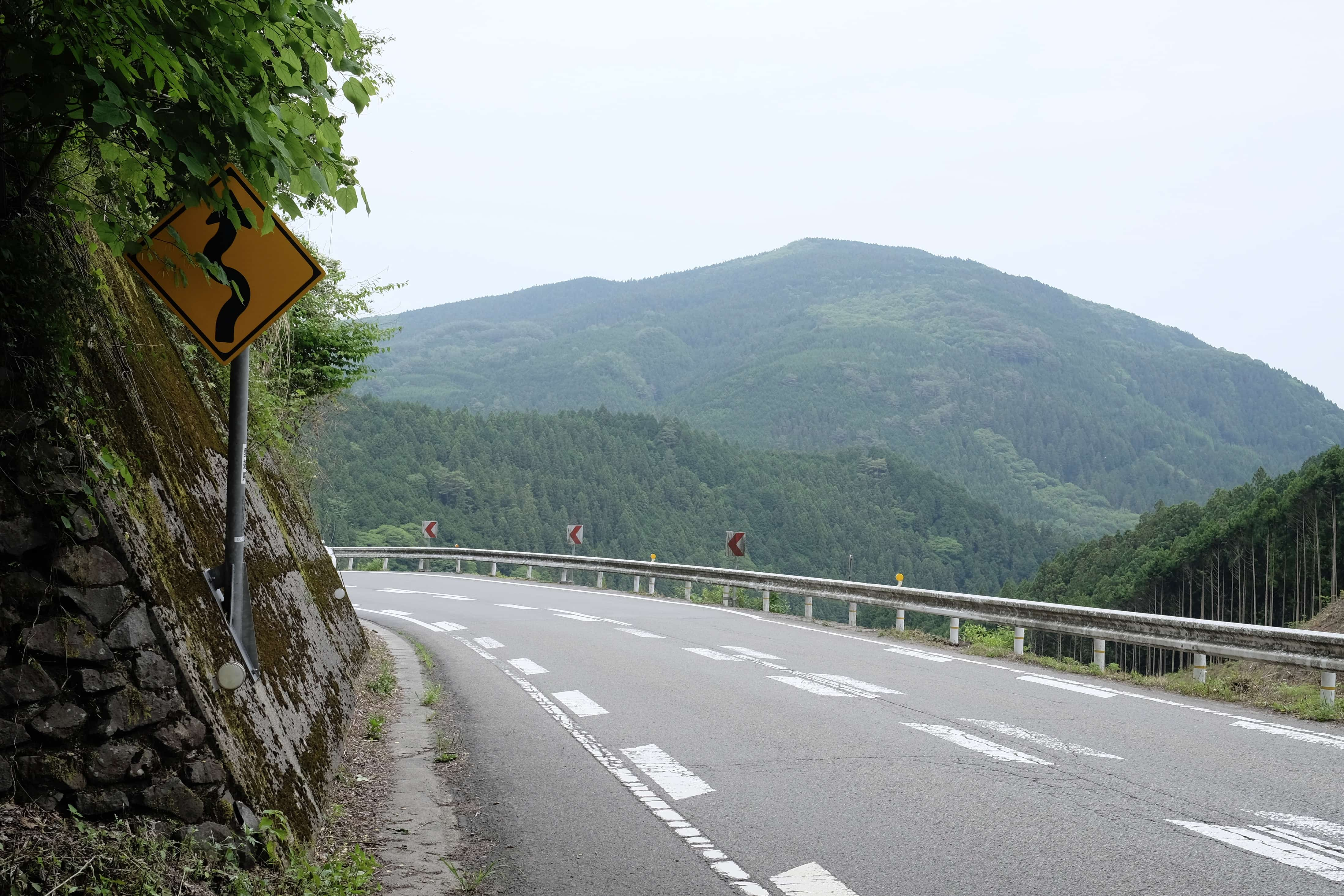 Road along Tōnomidō Pass