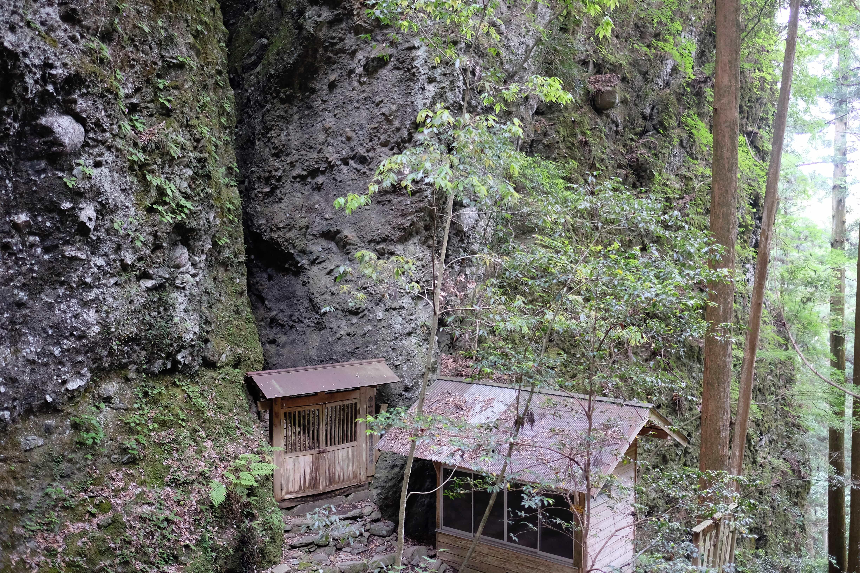 Iwaya-ji inner sanctum
