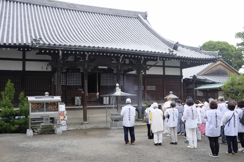 Kichijō-ji pilgrims