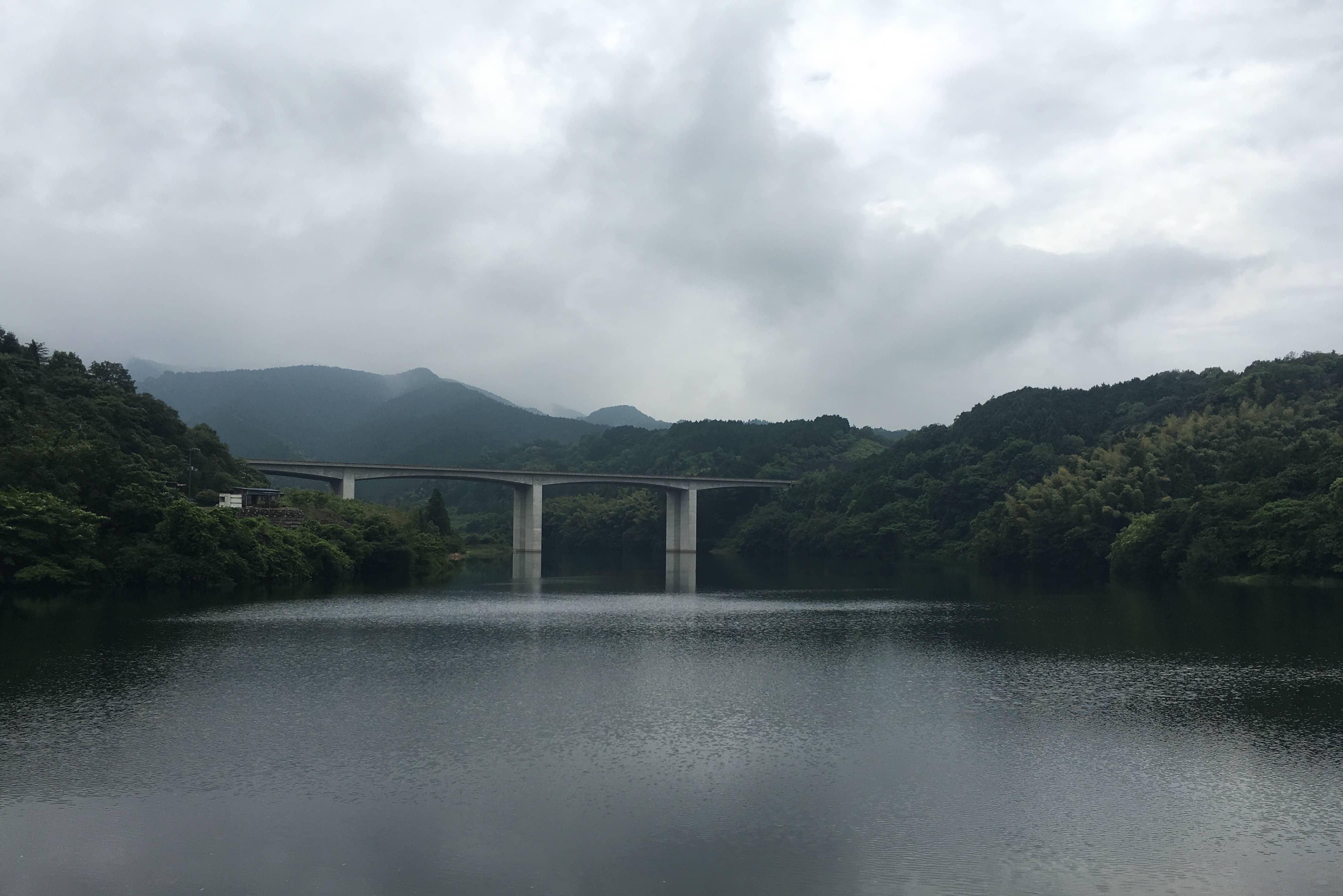 Saijo Expressway bridge
