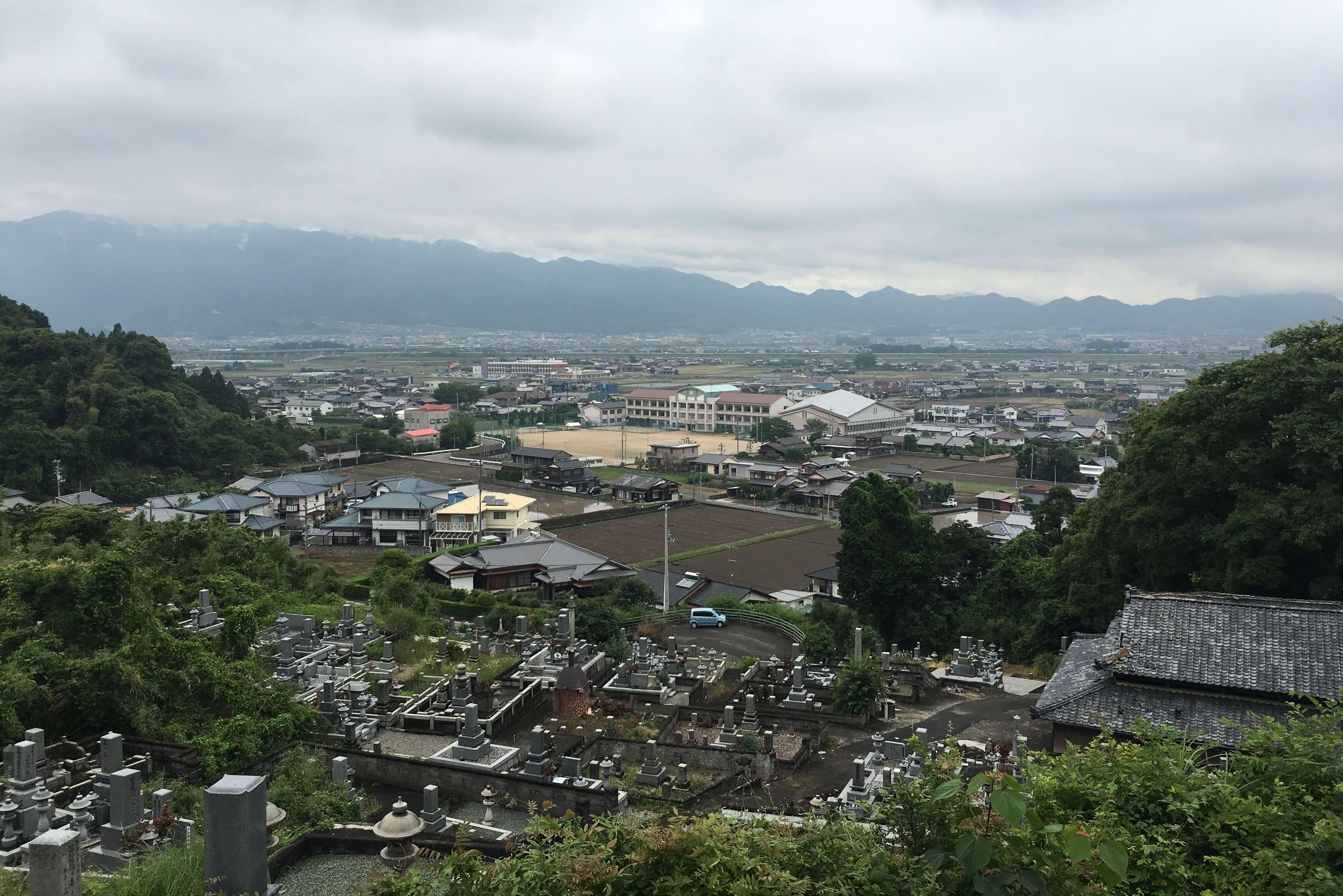 View over Saijo