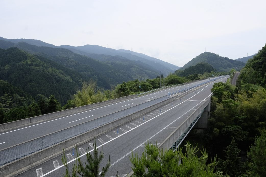 Tokushima expressway