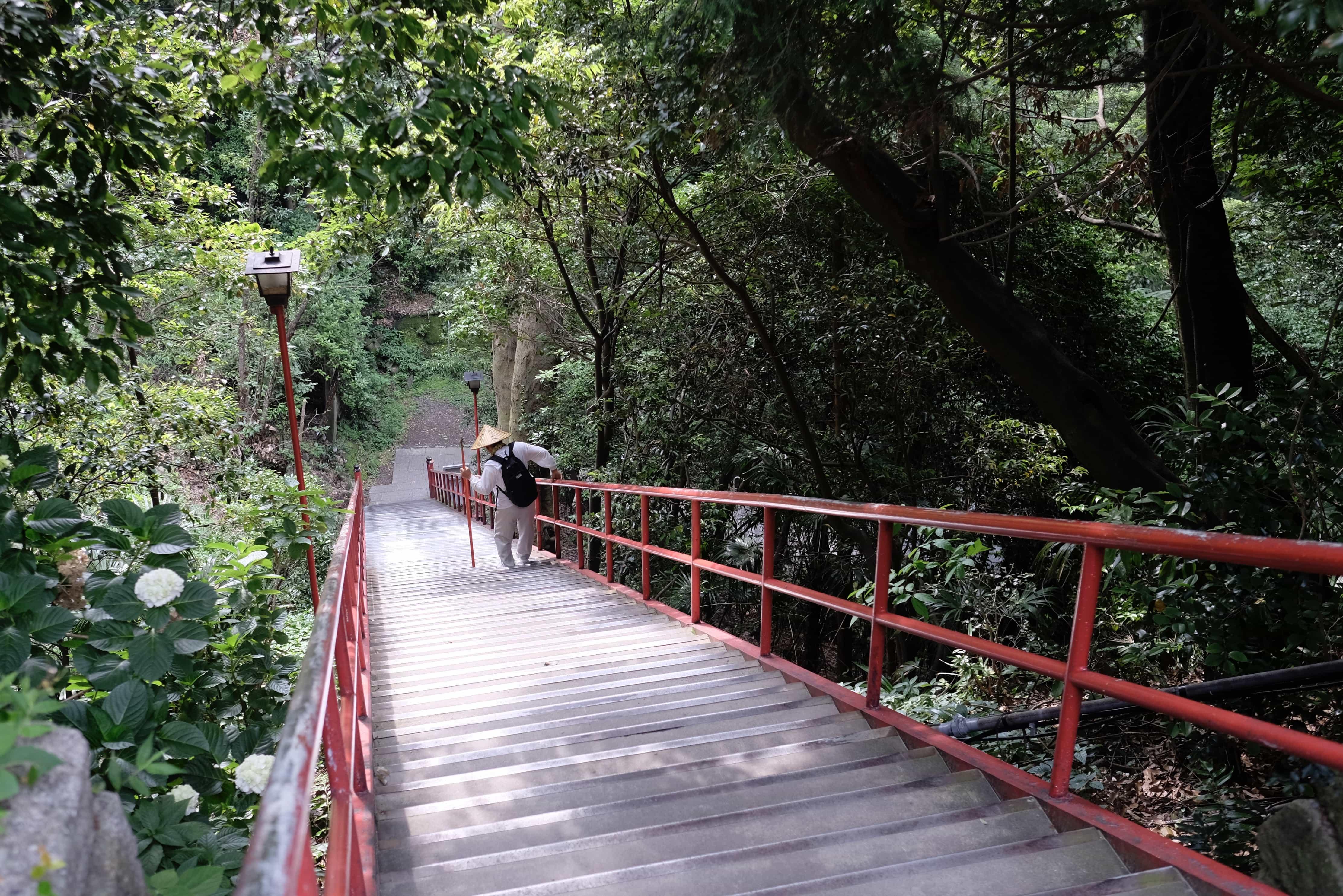 Iyadani-ji Stairs