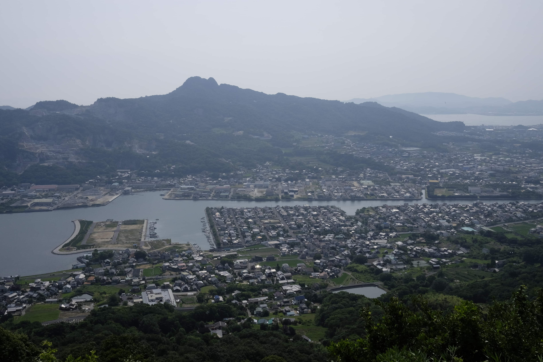 View towardYakuri-ji
