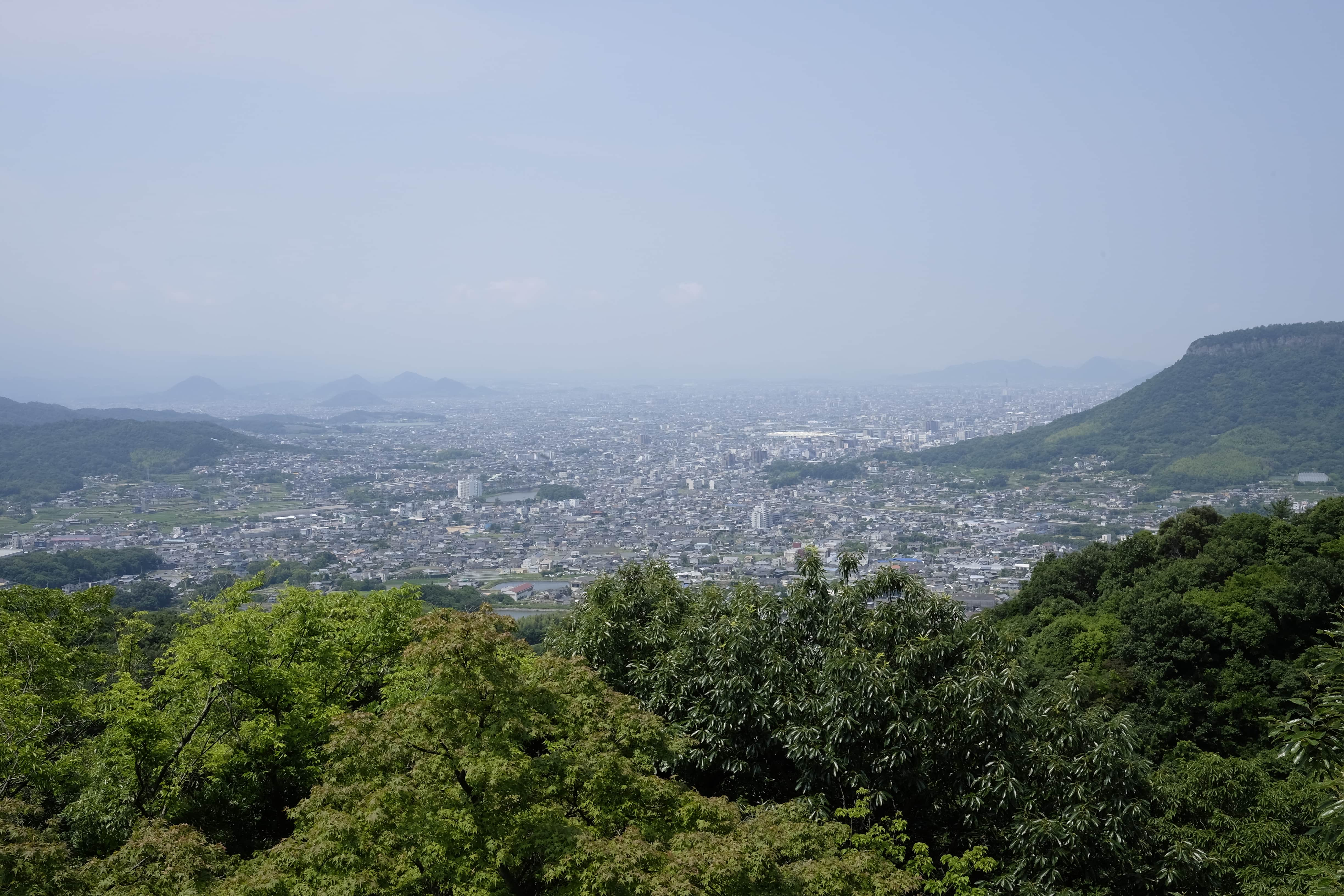 View from Yakuri-ji
