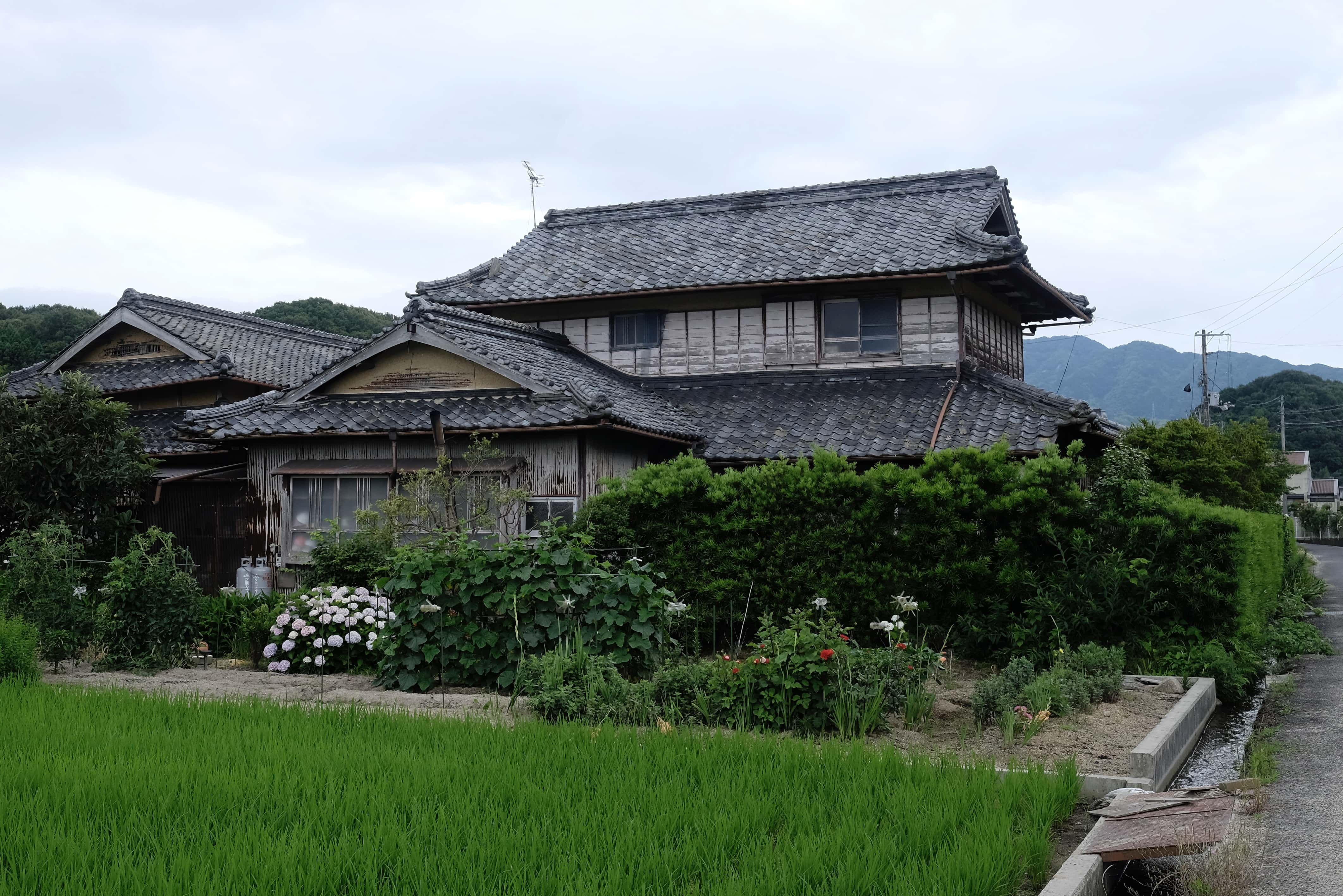 Old house in Nagaonishi