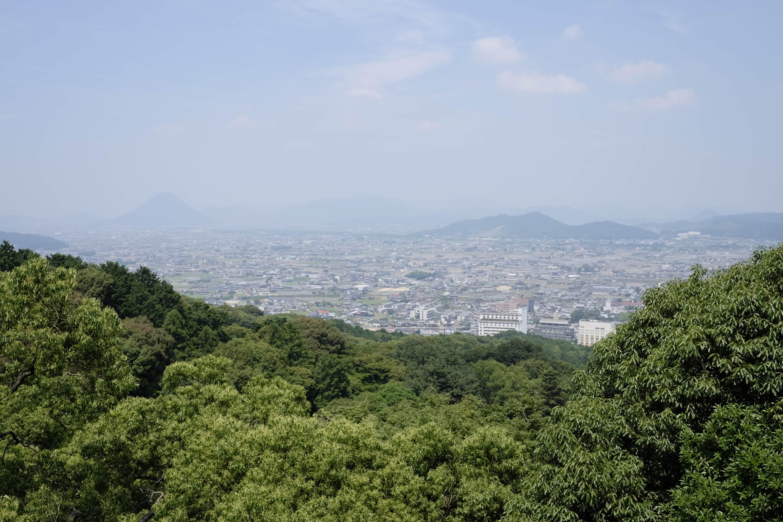 Kotohira Town from Kotohira-gū