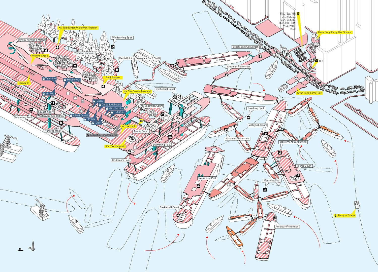Cities Without Ground A Hong Kong Guidebook 3D Maps