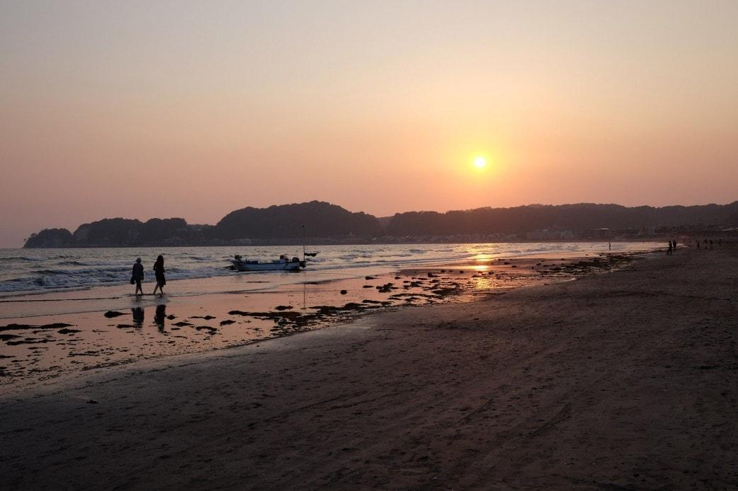 Sagami Bay Sunset