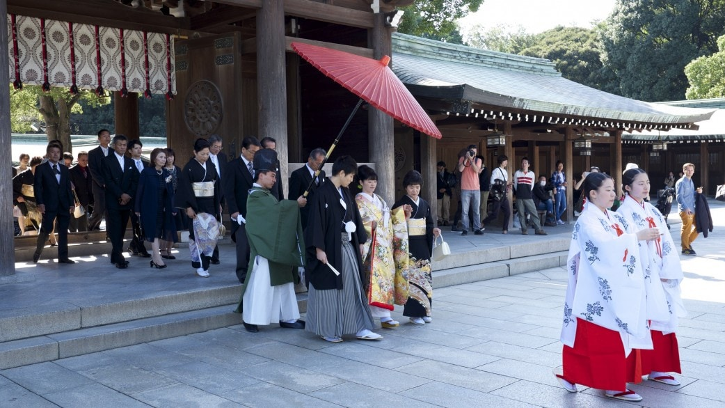 Meiji Jingu Shinto Wedding