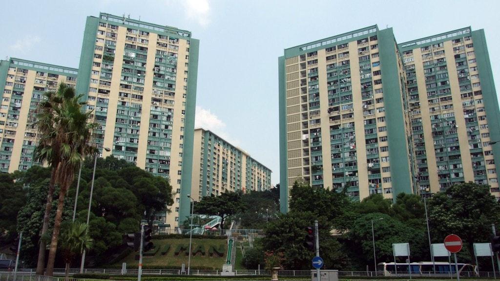 Oi Man Estate, Hong Kong