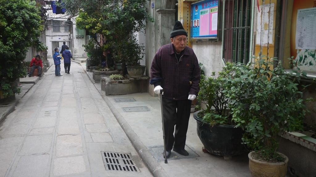 Old Man in Old Guangzhou