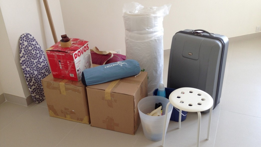 Packed Up Apartment