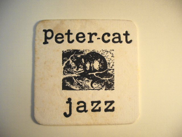 Peter Cat Jazz Coaster
