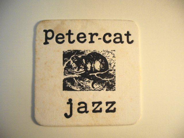 Peter Cat Jazz Coaster