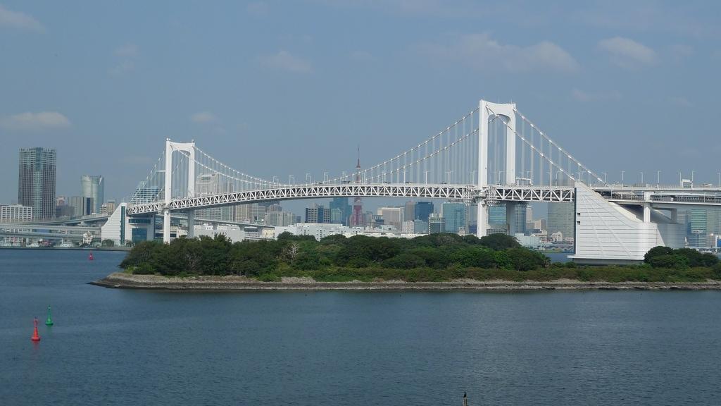 Tokyo Bay Rainbow Bridge