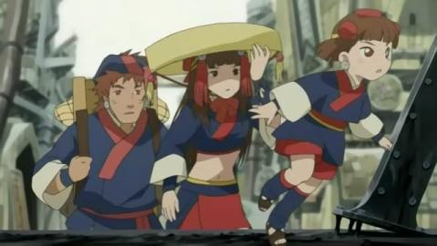 Samurai 7 Anime Characters : Samurai 7 anime review