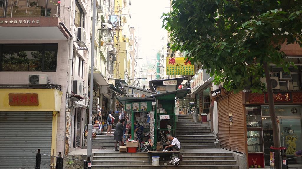 Sheung Wan ladder street