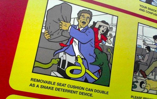 Snakes on a Plane safety guide