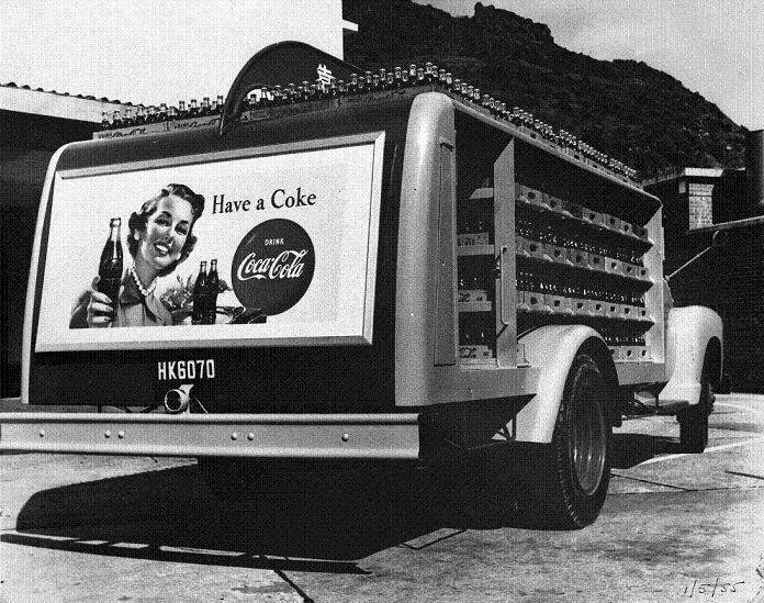 Swire Coca-Cola Van