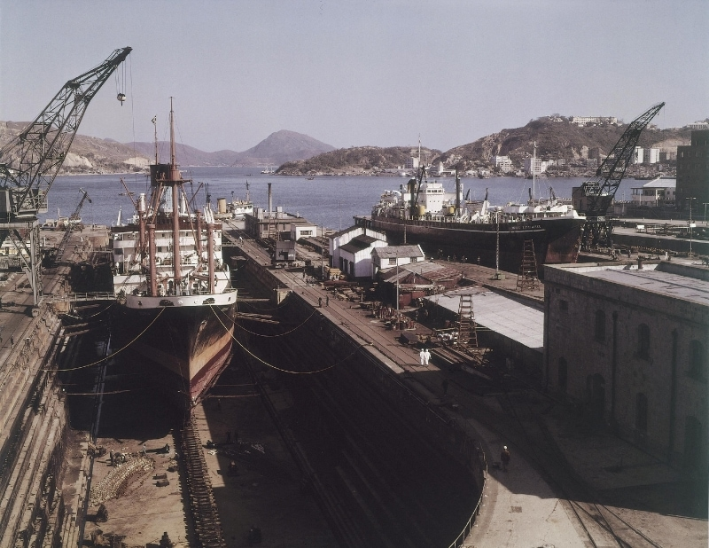 Taikoo Dockyard in 1965