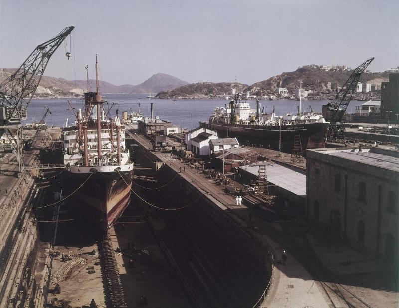 Taikoo Dockyard in 1965